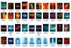 create  Neon 3D Facebook YouTube Google plus twitter cover photo