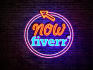 do AMAZING Neon style Logo