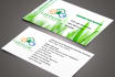design CREATIVE double sided business namecard