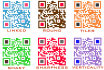 create 1 trackable colour QR Code with logo and dynamic extra options