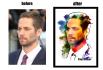 make your photo colourful like rainbow