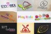 create a 3D presentable logo and mockup