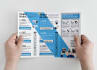 design modern and eye catching flyer, poster or book layout