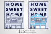 draw a line art poster of your home