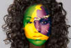 paint your face with any country flag