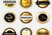 create vintage badges for advertizing