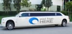 put your Logo or Message on 3 LIMOUSINE