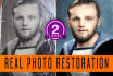 restore and Recolor Your Old,Damaged Photos professionally,