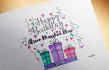 design an amazing Birthday or event card