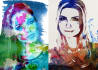create your portrait in WATERCOLOR artwork