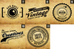 design You A Professional Retro Vintage Logo