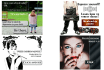design colorful web banner of any size