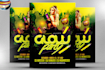 design an amazing Club, Party, Event flyer with free PDF