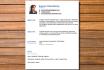 design Resume, Curriculum Vitae
