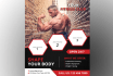 design awesome flyer  for you