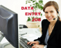 do any type of data entry in few hours