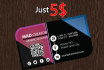 design Business and Visiting Cards