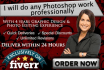do professional Photoshop job