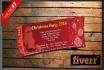 design Christmas Party Tickets