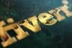 create cinematic epic golden logo