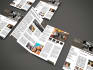 design professional newsletter and booklet