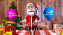 promote your logo with santa for the holidays