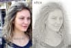 do sketch art of your picture