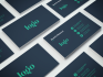 design clean and flat business card in 48 hours