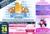 design a Professional web banner or header