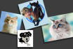 draw your pets in cartoon CARICATURE style