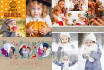 design a wonderful family HOLIDAY card