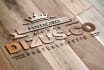 replicate your LOGO on wood with steel blade