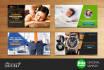 design unique facebook google youtube banner ads
