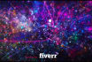 create colorful particles revealing your image or logo