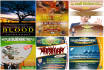 design 2 flyer, poster, banner, business card in 24 hours