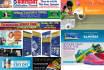 do banner or header for facebook, website, google, twitter, youtube