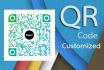 design a custom QR code with your logo