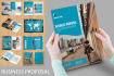 design professional newsletter or booklet