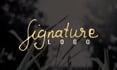 do elegant handwritten signature logo