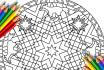 give you 28 animal adult coloring mandalas