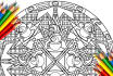design a custom mandala coloring page for you