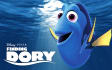 make a video with Dory finding someone and your logo or text