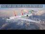 put your Logo or Text on flying Business jet  intro video