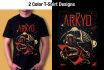 create Tshirt Mockup design for you