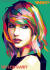 draw your photo into wpap pop art style