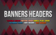 design a professional web banner, header, ad, facebook cover
