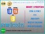 fix your PHP html css javascript or mySQL problem