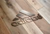 replicate your logo on a steel blade