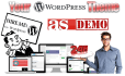 install WordPress theme setup as demo fast deliver