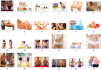 send 200 weight loss images for landing page, blog,website